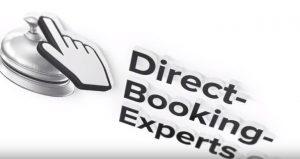 Intro Maker Beispiel Screenshot mit Logo von direct-booking-experts.de